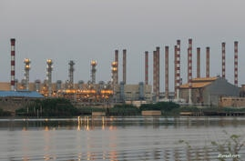FILE PHOTO: A general view of Abadan oil refinery in southwest Iran