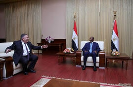 U.S. Secretary of State Mike Pompeo meets Sudan's Sovereign Council Chief General Abdel Fattah al-Burhan in Khartoum