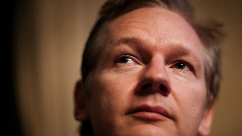 Julian Assange, founder of WikiLeaks, which has made public about 500,000 classified U.S. files on the wars in Iraq and Afghanistan, holds a news conference at the Geneva Press Club in Geneva, November 4, 2010. (Reuters)