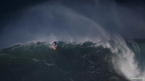 REUTERS Surfing championship in Portugal