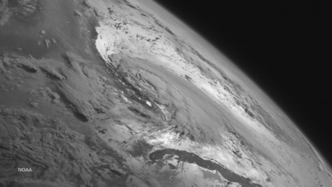 This National Oceanic and Atmospheric Administraion (NOAA) GOES West satellite image shows Tropical Storm Arthur. Heavy rains are expected to affect the southern U.S. coastline over the next several days as the National Hurricane Center expects Arthur ...
