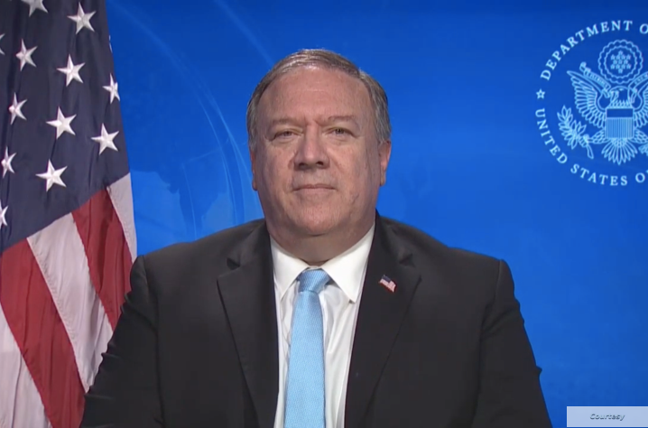 Mike Pompeo message for AJCGlobal