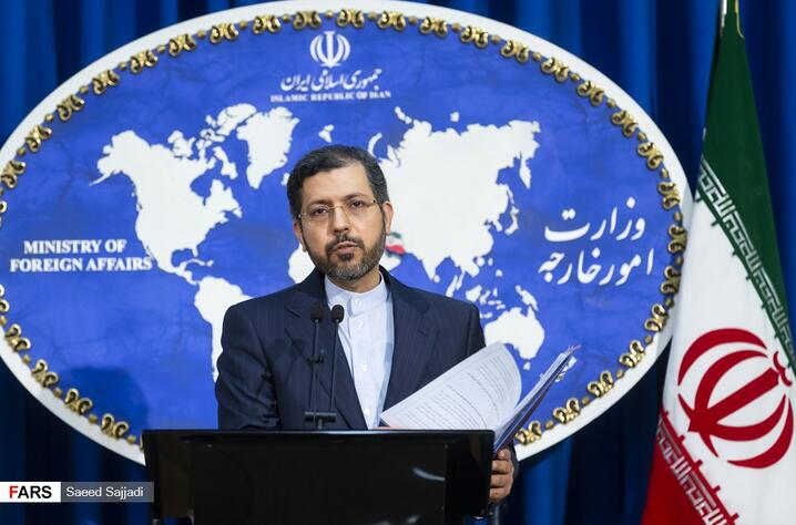 Saeed Khatibzadeh, a spokesman for the Iranian Foreign Ministry