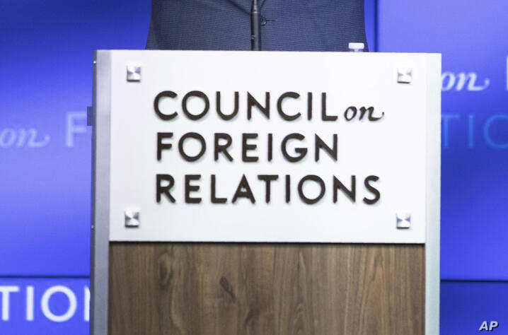Democratic Presidential candidate Washington Gov. Jay Inslee speaks at the Council on Foreign Relations, Wednesday, June 5,…