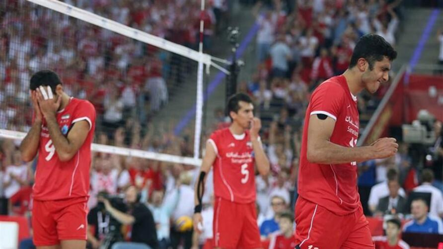 Iran volleyball national team in men's world championship in Poland