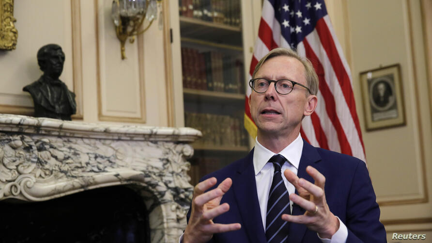 Brian Hook, U.S. Special Representative for Iran, attends an interview with Reuters at the U.S. Embassy in Paris, France, June 27, 2019.