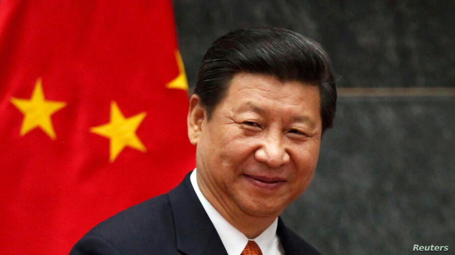 China's President Xi Jinping attends a news conference at Los Pinos Presidential Palace in Mexico City, June 4, 2013.
