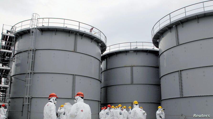 Tanks of radiation-contaminated water are seen at the Tokyo Electric Power Co (TEPCO)'s tsunami-crippled Fukushima Daiichi nuclear power plant in Fukushima prefecture, (File photo).