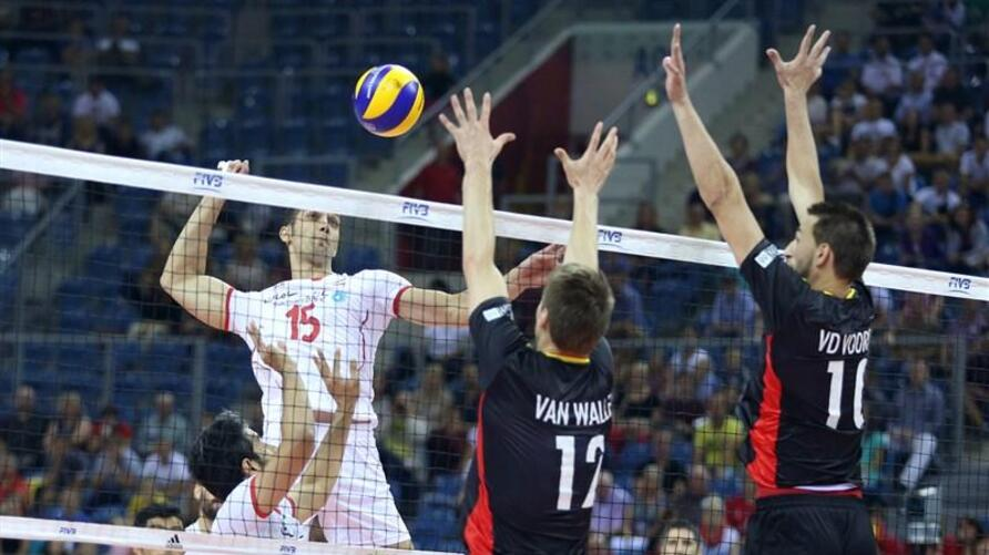 Iran's national volleyball team in world championship2