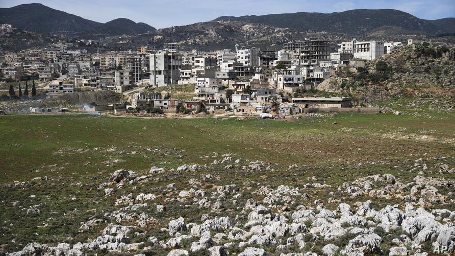 A view of the town of Masyaf in Hama province, in Syria on Wednesday, March 2, 2016. The Russian- and U.S.-brokered cease-fire…