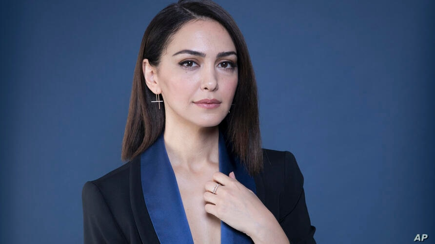 In this Dec. 10, 2018 photo, Nazanin Boniadi poses for a portrait in New York. (Photo by Amy Sussman/Invision/AP)