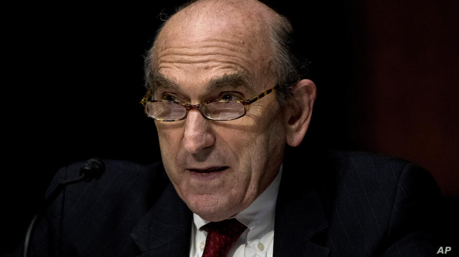 State Department Special Representative for Venezuela Ambassador Elliott Abrams testifies at a Senate Foreign Relations…