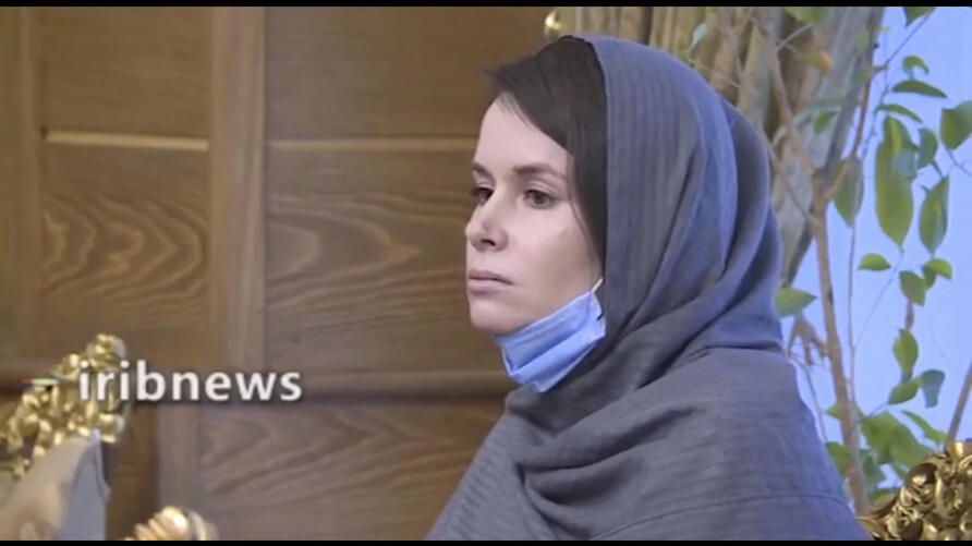 In this frame grab from Iranian state television video aired Wednesday, Nov. 25, 2020, British-Australian academic Kylie Moore…