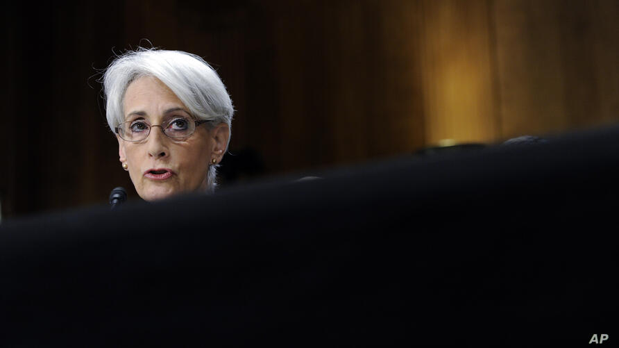U.S. State Department Under Secretary For Political Affairs Wendy Sherman testifies before the Senate Foreign Relations…