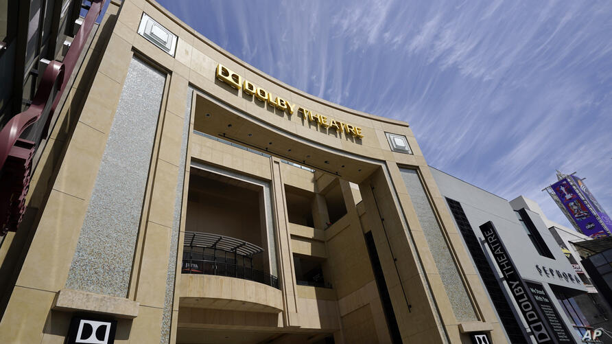 The Dolby Theatre, one of the locations being used for the 93rd Academy Awards held on April 25, is pictured Thursday, April 15…