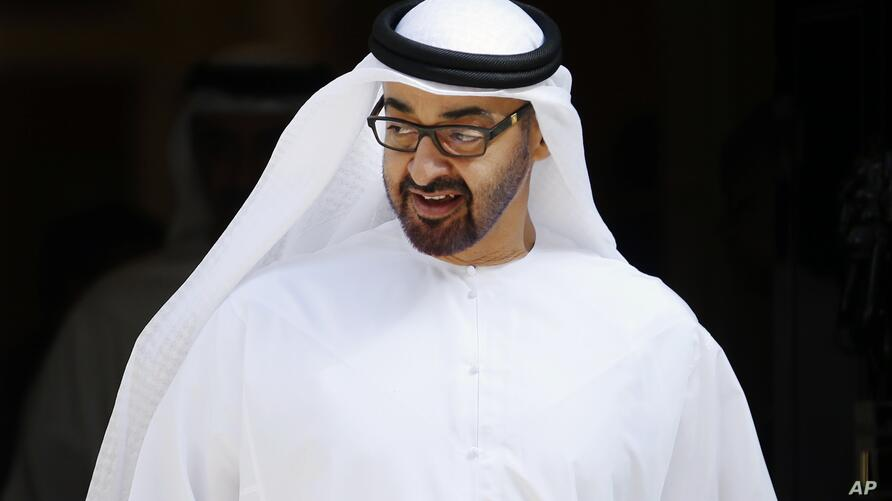 Crown Prince of Abu Dhabi, Sheik Mohamed bin Zayed Al Nahyan leaves 10 Downing Street in London, Monday, July 15, 2013,  after…
