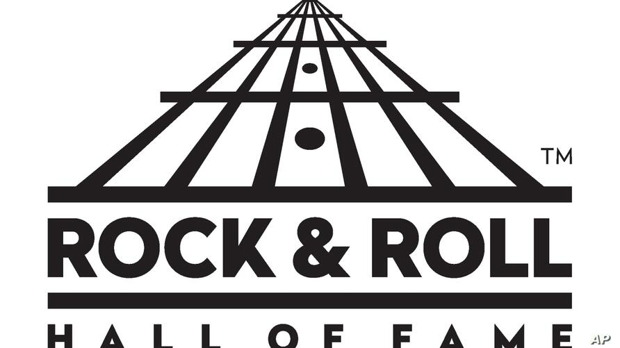ROCK AND ROLL HALL OF FAME AND MUSEUM logo, graphic element on white