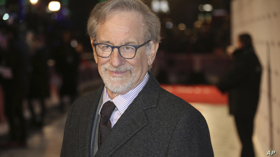 Director Steven Spielberg poses for photographers upon arrival at the premiere of the film 'The Post ' in London, Wednesday,…