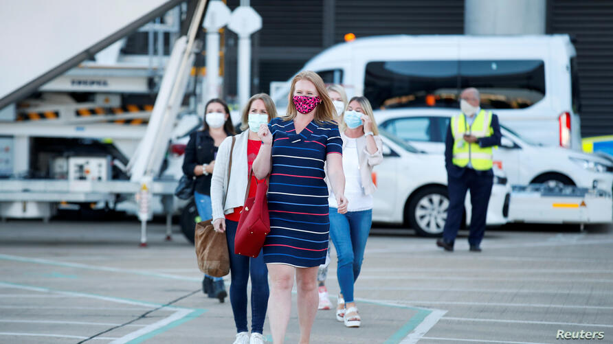 EasyJet restarts its operations amid the coronavirus disease (COVID-19) outbreak at Gatwick Airport, in Gatwick