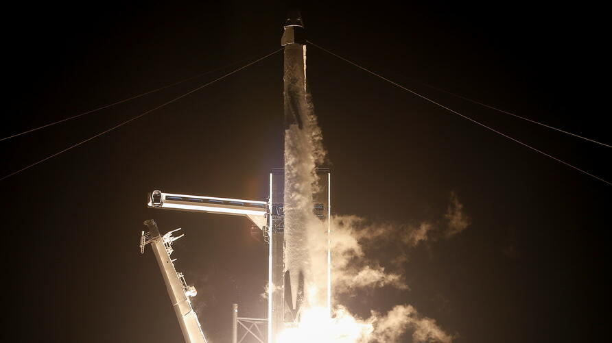 NASA and SpaceX launch the first operational commercial crew mission