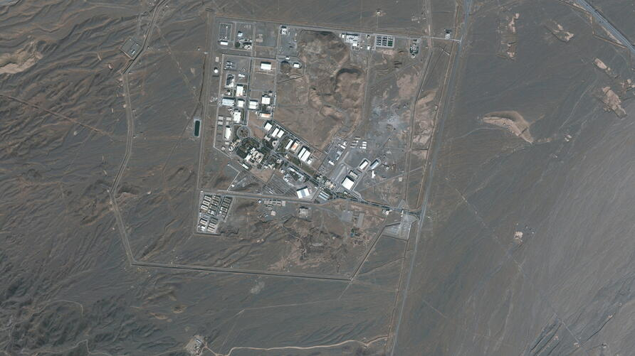 Satellite image shows Iran's Natanz Nuclear Facility in Isfahan
