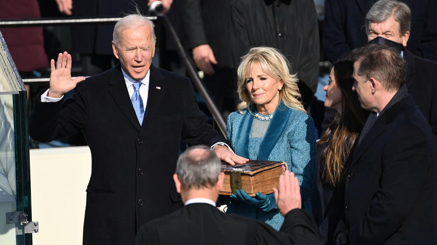 Inauguration of Joe Biden as the 46th President of the United States