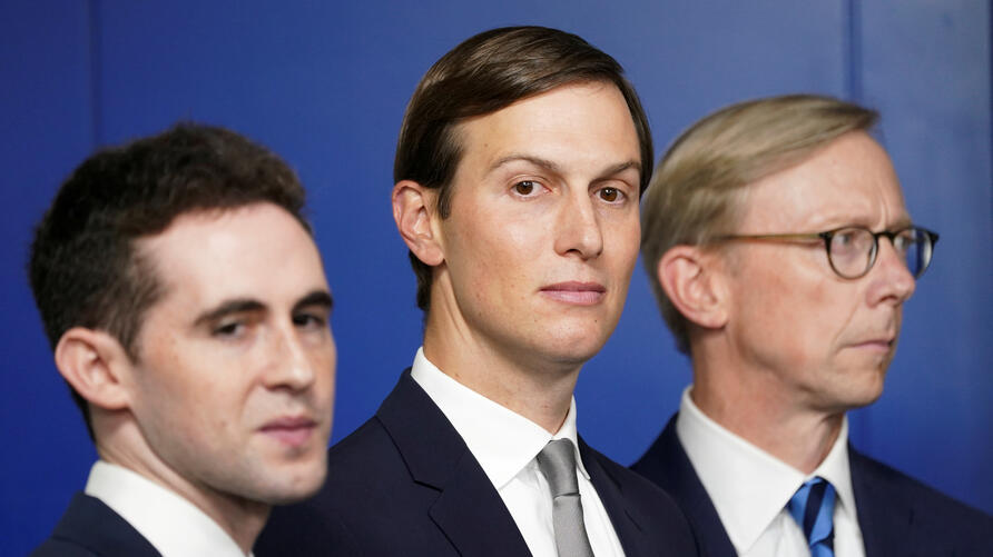 FILE PHOTO: Kushner at a press briefing on the Israel-UAE agreement  at the White House in Washington