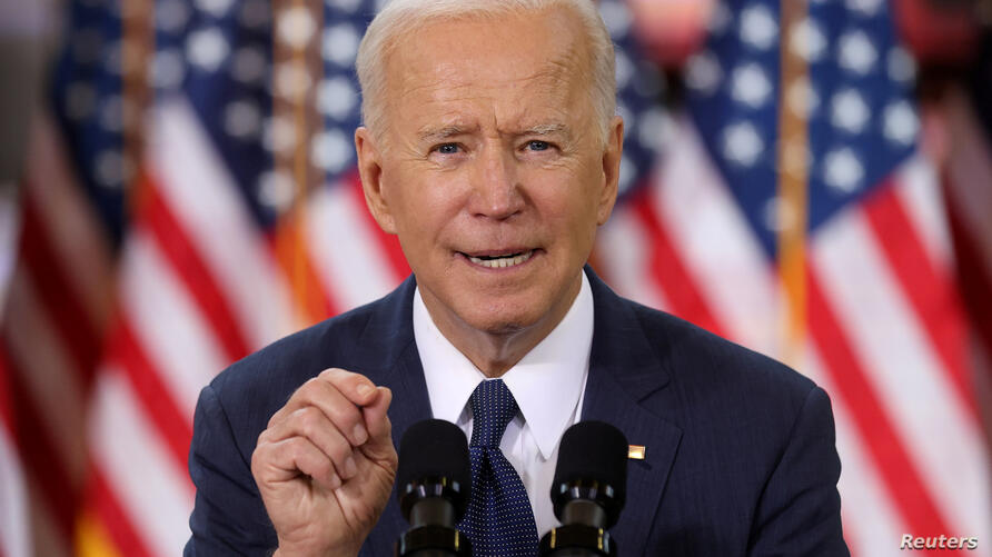 FILE PHOTO: U.S. President Biden holds infrstructure event at Carpenters Pittsburgh Training Center in Pittsburgh, Pennsylvania
