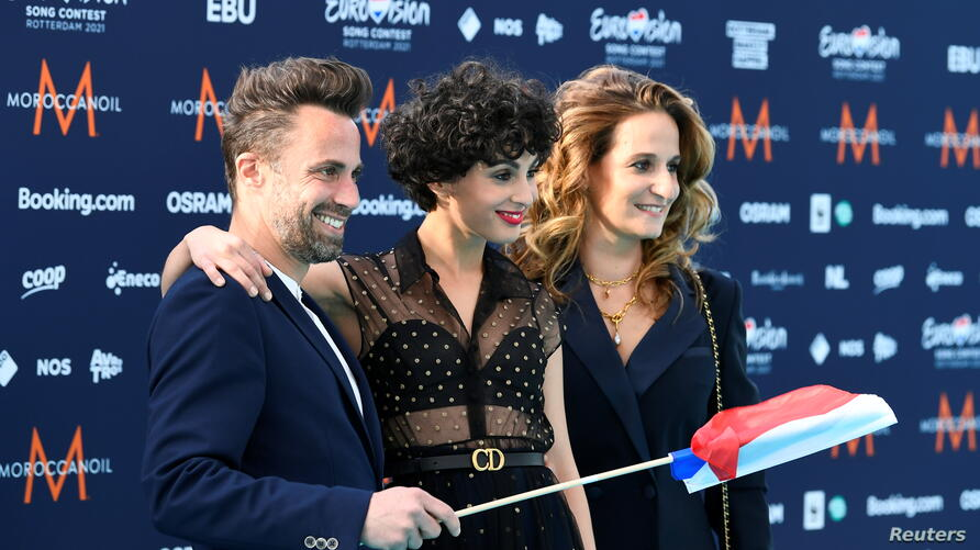Opening ceremony of the 2021 Eurovision Song Contest in Rotterdam