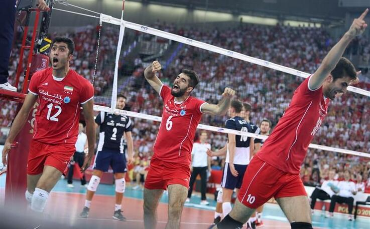 Iran volleyball national team in men's world championship in Poland2