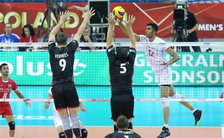 Iran's national volleyball team in world championship