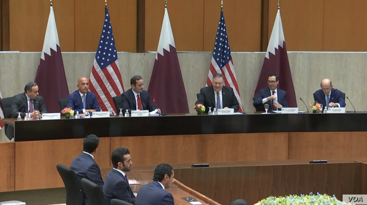 U.S.-Qatar Strategic Dialogue Sep 2020