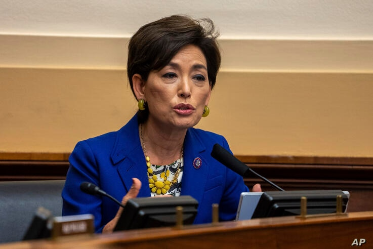 Rep. Young Kim, R-Calif., speaks during the House Committee on Foreign Affairs hearing on the administration foreign policy…