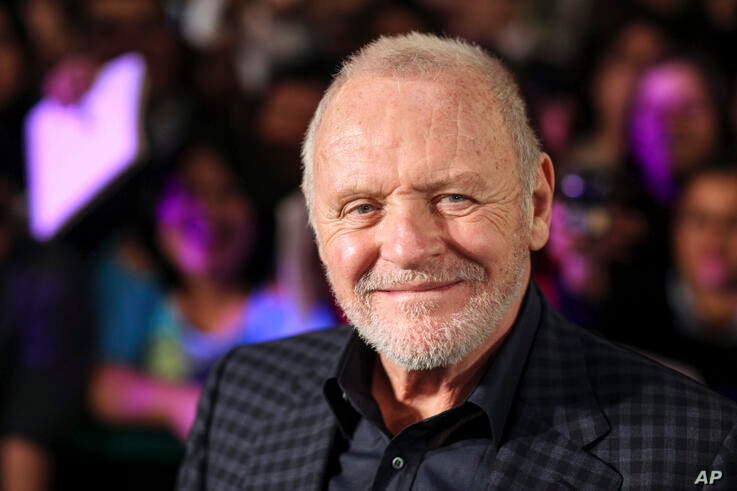 FILE - In this Feb. 15, 2011 file photo, Anthony Hopkins smiles while posing for photos prior to the premiere of his new film …
