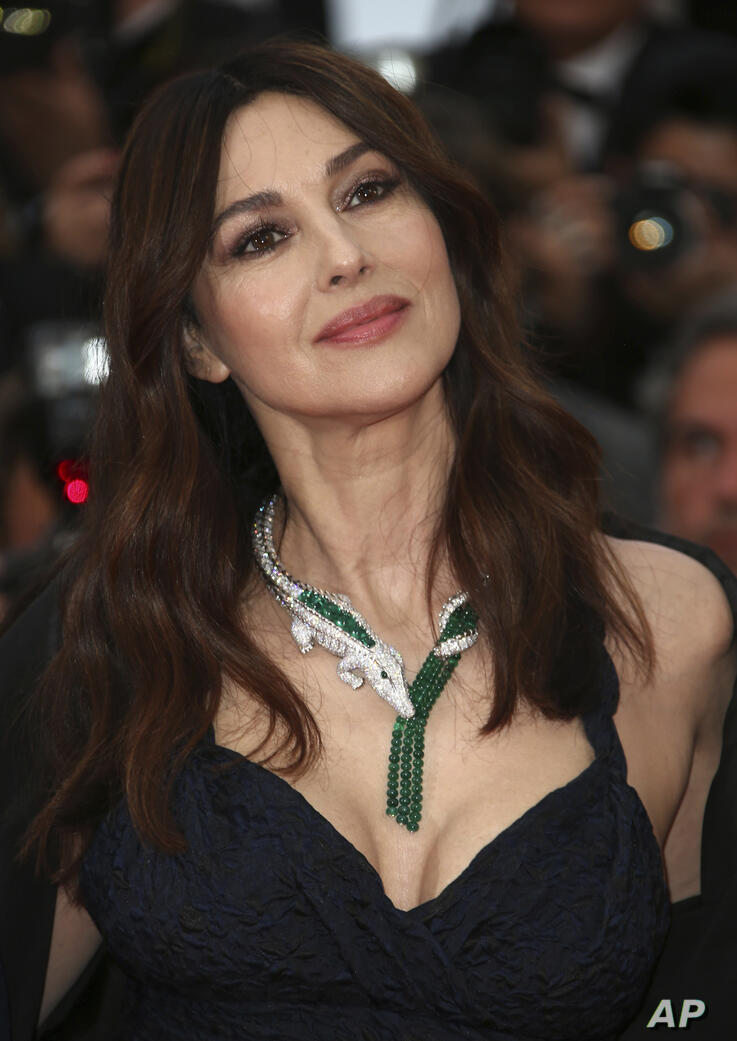 Actress Monica Bellucci poses for photographers upon arrival at the premiere of the film 'The Best Years of a Life' at the 72nd…