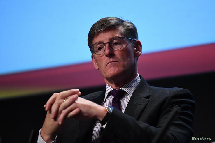 FILE PHOTO: Chief Executive Officer of Citigroup Michael Corbat speaks at a European Financial Forum event in Dublin