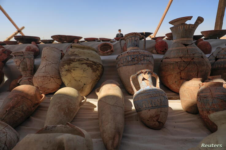 Archaeologists unearth 'Lost Golden City' near Luxor