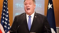 Secretary of State Mike Pompeo speaks during media briefing, Tuesday, Nov. 10, 2020, at the State Department in Washington. (AP…