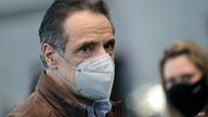 New York Gov. Andrew Cuomo greets people after speaking at a vaccination site on Monday, March 8, 2021, in New York. (AP Photo…