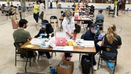 Kent State University Students get their COVID-19 vaccinations in Kent, Ohio, Thursday, April 8, 2021. U.S. colleges hoping for…