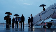 U.S. Secretary of State Antony Blinken arrives at New Delhi Palam Airport ahead of meetings with diplomatic counterparts in New…