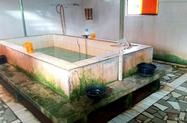 Bath House North Korean workers use near their compound in Ouakam, Dakar (Photo: Christy Lee / VOA)