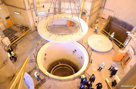 A view of the water nuclear reactor at Arak, Iran December 23, 2019. WANA (West Asia News Agency) via REUTERS ATTENTION EDITORS…