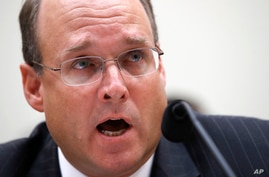 Assistant Secretary of the Treasury for Terrorism and Financial Intelligence Marshall Billingslea testifies during a House…