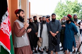 Taliban prisoners are released from Pul-e-Charkhi jail in Kabul, Afghanistan, Thursday, Aug. 13, 2020. Afghanistan released the…