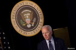 FILE PHOTO: U.S. President Biden delivers update on administration's coronavirus response from the White House in Washington