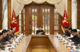 First meeting of Political Bureau of  8th Central Committee of the Workers' Party of Korea in Pyongyang