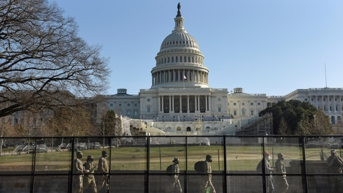 A day after Trump supporters occupied the U.S. Capitol building, in Washington