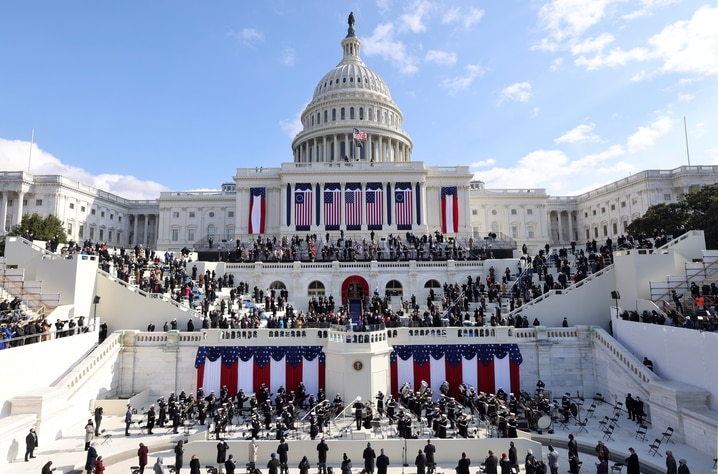 Inauguration of Biden as the 46th President of the United States