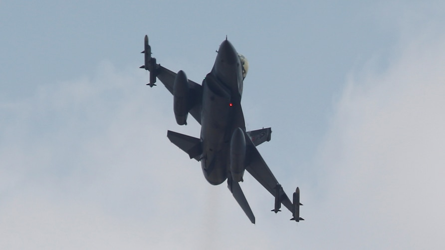 A Turkish F-16 fighter jet takes off from Incirlik airbase in the southern city of Adana, Turkey, July 27, 2015. To match…
